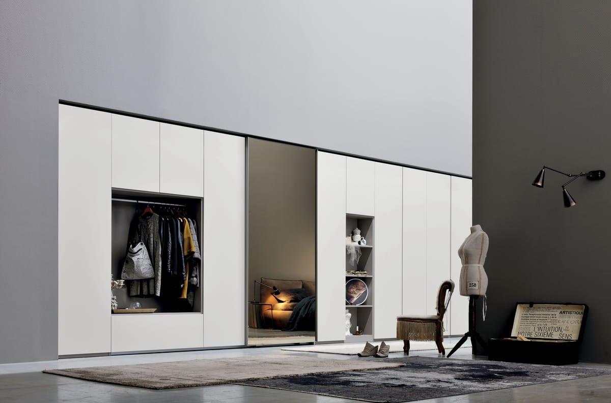 Armadio con specchio per camera da letto | IDFdesign