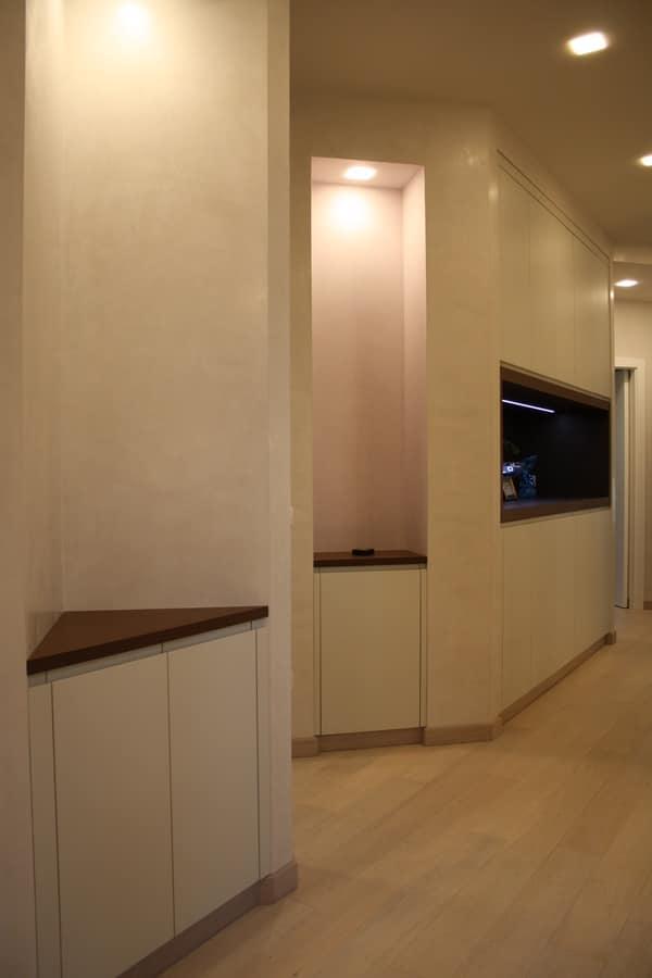 Armadi su misura per corridoi personalizzabili nelle finiture idfdesign - Mobili da corridoio ...