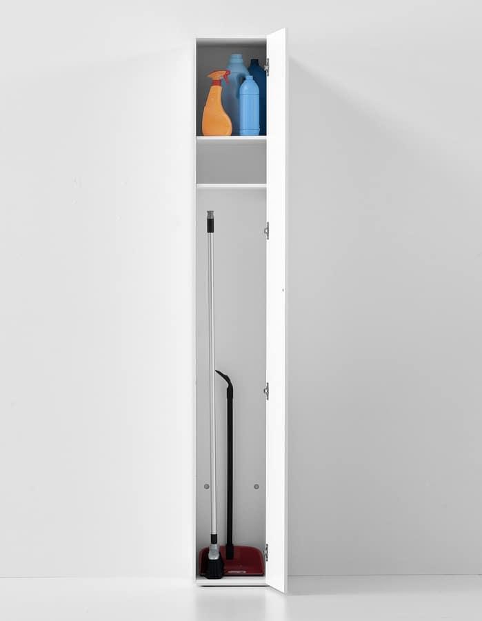 Blio Solo, Armadio essenziale design, per la case e l'ufficio