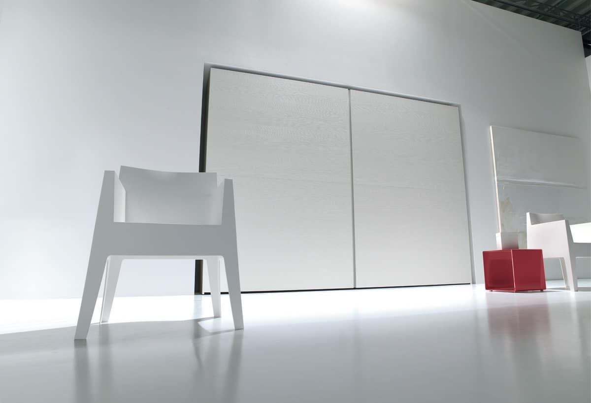HOME P11 Design Indice Categorie Mobili Armadi Armadi A Muro Design  #812B35 1200 818 Mobili Multiuso A Specchio
