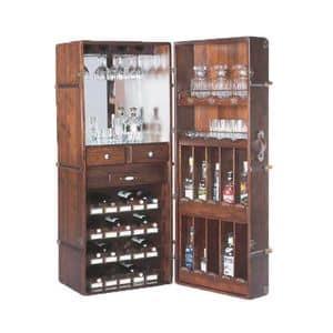 Art. 408, Arredamento per enoteca, Baule bar Taverne