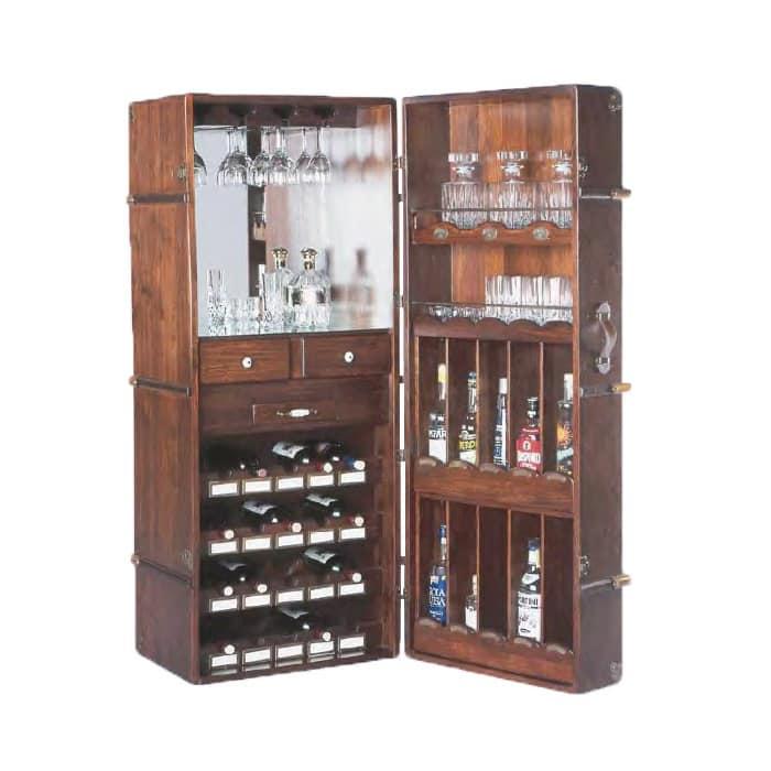Arredamento per enoteca, Baule bar Taverne  IDFdesign