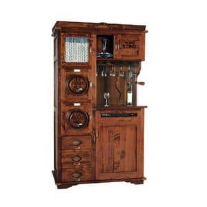 Art. 421, Mobiletto per enoteca con climatizzatore per vino