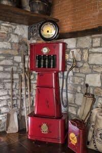 Art. 609, Distributore di vino o bibite, a forma di pompa di benzina