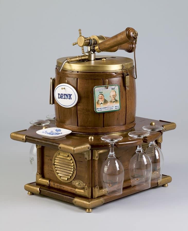 Erogatore birra vino e bibite per enoteche e taverne for Arredamento enoteca wine bar