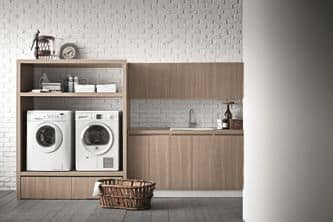 Idrobox 01 armadio per lavanderia casa idfdesign - Mobili per lavanderia domestica ...