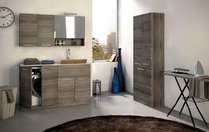 LAVANDERIA 01, Mobile lavanderia in legno