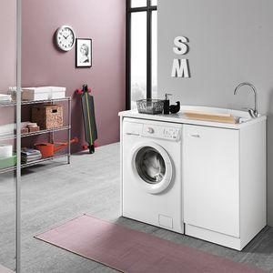 Prima comp. 02, Lavatoio con vano per lavatrice
