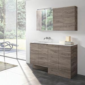 Stone comp. 02, Mobile lavanderia con lavatoio