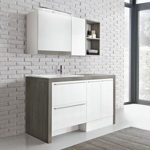 Stone comp. 12, Elegante soluzione per lavanderia