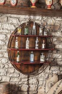 Art. 628, Pensile porta bottiglie, per bar e ristoranti