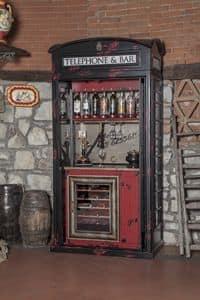 Art. 638, Impianto di spinatura e bottigliera, riproduzione di cabina telefonica