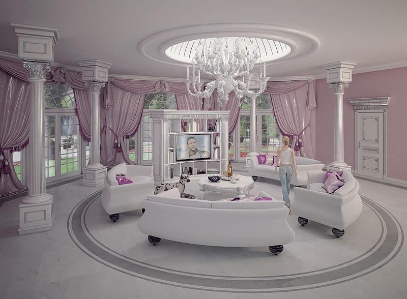 Arredamento su misura stile classico contemporaneo per - Arredamento casa classico contemporaneo ...