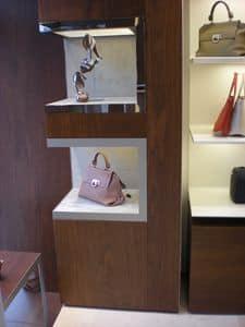 Nicchie espositive per arredo negozi, Nicchie su misura, per negozi e boutique