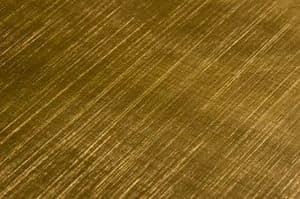 Ottone satinato incrociato, Arredi su misura in metallo