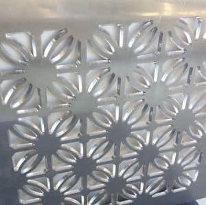Pannelli decorativi in alluminio con decoro personalizzato, Pannelli decorativi in metallo per showroom e residenziale
