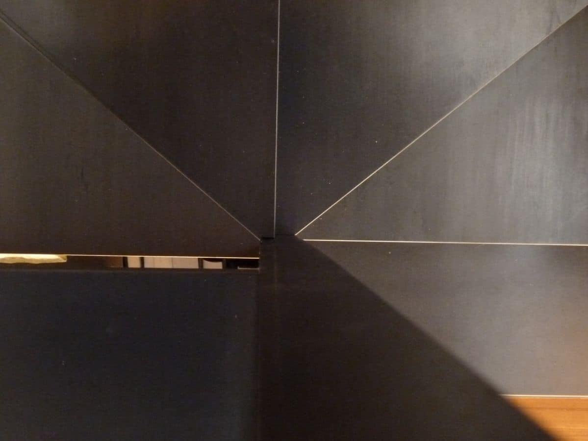 ... ferro grezzo, con corrimano, gradini e parapetto - Scala ferro grezzo