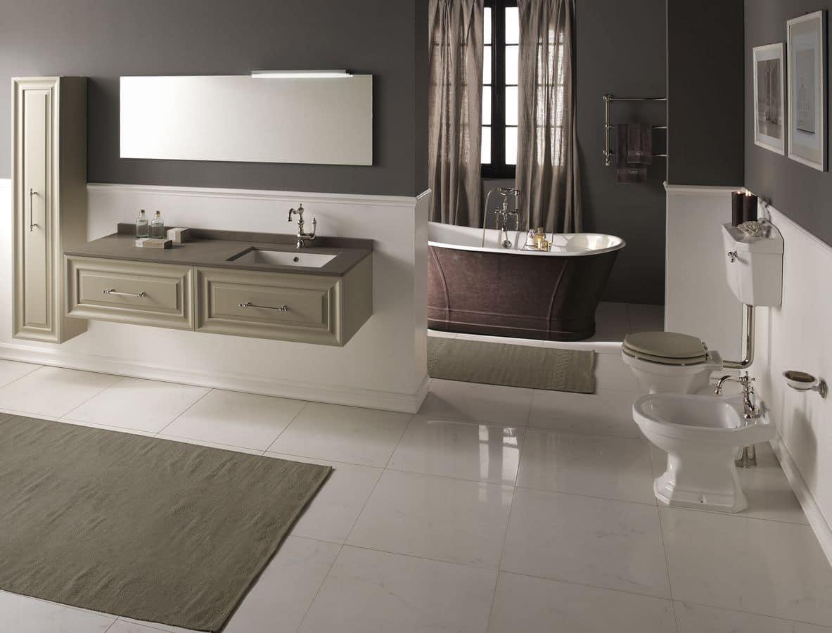Alterego mobile da bagno disponibile in varie colorazioni - Gaia arredo bagno ...
