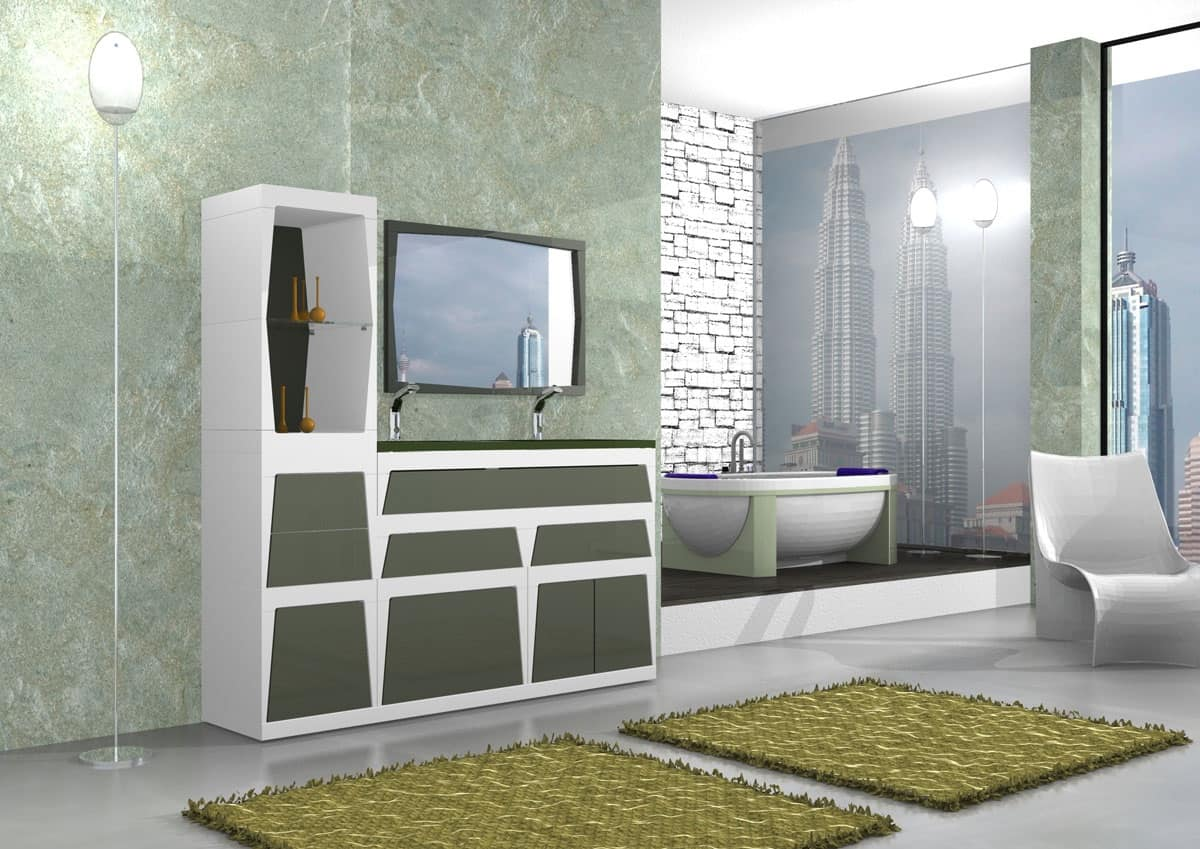 Arredo bagno moderno elegante design casa creativa e - Bagno arredo moderno ...