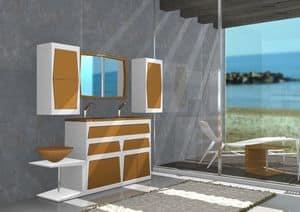 Immagine di Arredo bagno B4, mobili con lavabo