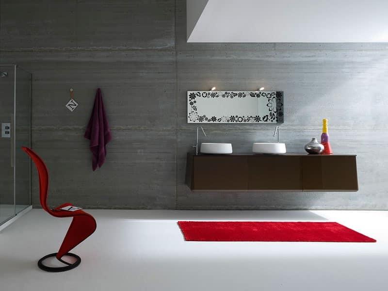 mobile bagno fucsia : Mobile Bagno Fucsia : Prodotti della stessa linea di: Mobili per bagno ...