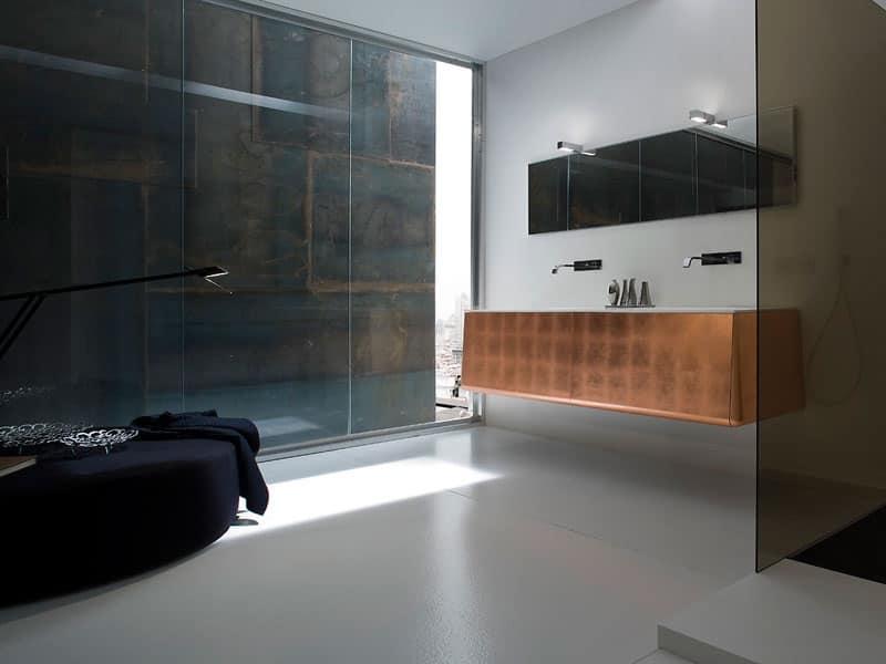 ... della stessa linea di: Mobili bagno moderno Stanza da bagno ospiti