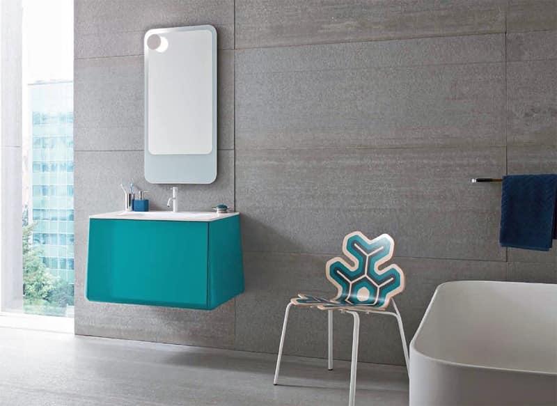 Prodotti della stessa linea di: Mobili per bagno Bagno albergo
