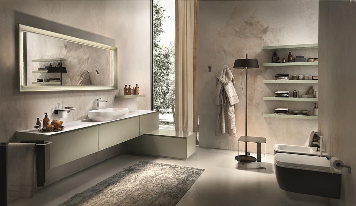 HOME P06 Bagno Prodotti Bagno Sanitari Mobili bagno Design Moderno