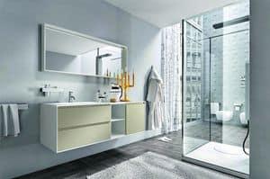 Cloe 23, Composizione per bagno, elegante e minimale