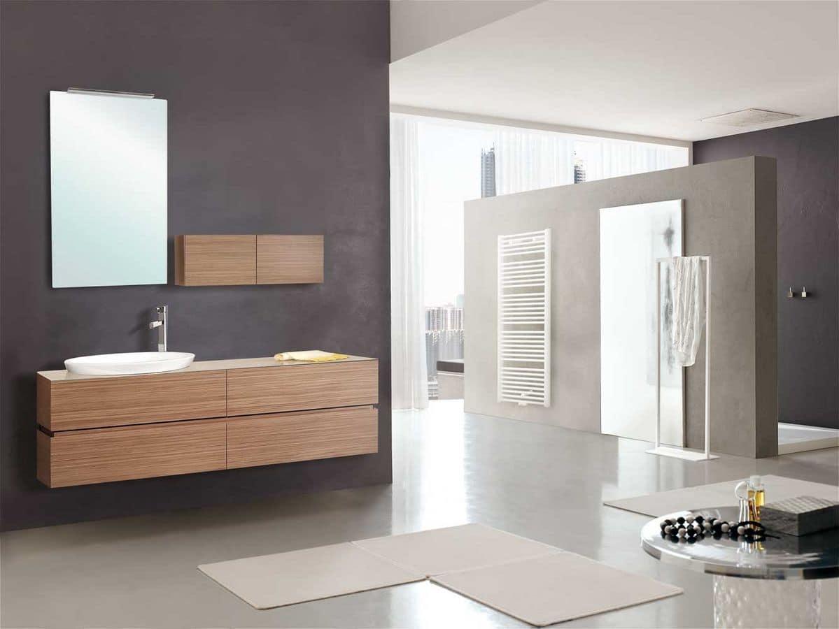 Ingresso mobili sbalzati a parete for Cerco mobile bagno