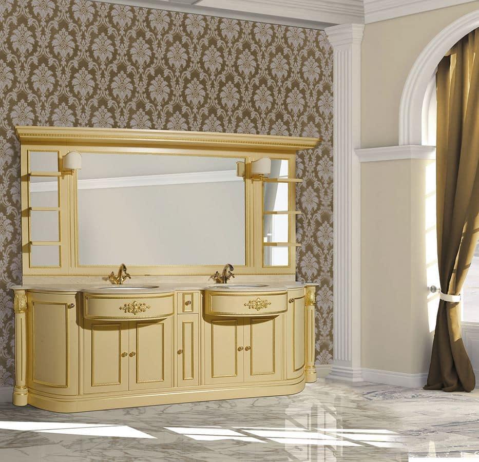 Arredo bagno in marmo design casa creativa e mobili - Mobili per lavabo bagno ...