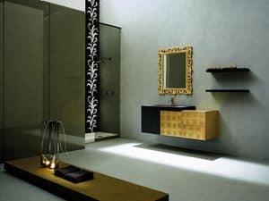 Immagine di Facto Evolution 08, lavandini con specchiera