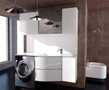 Ricerche correlate a Mobile bagno per incasso lavatrice