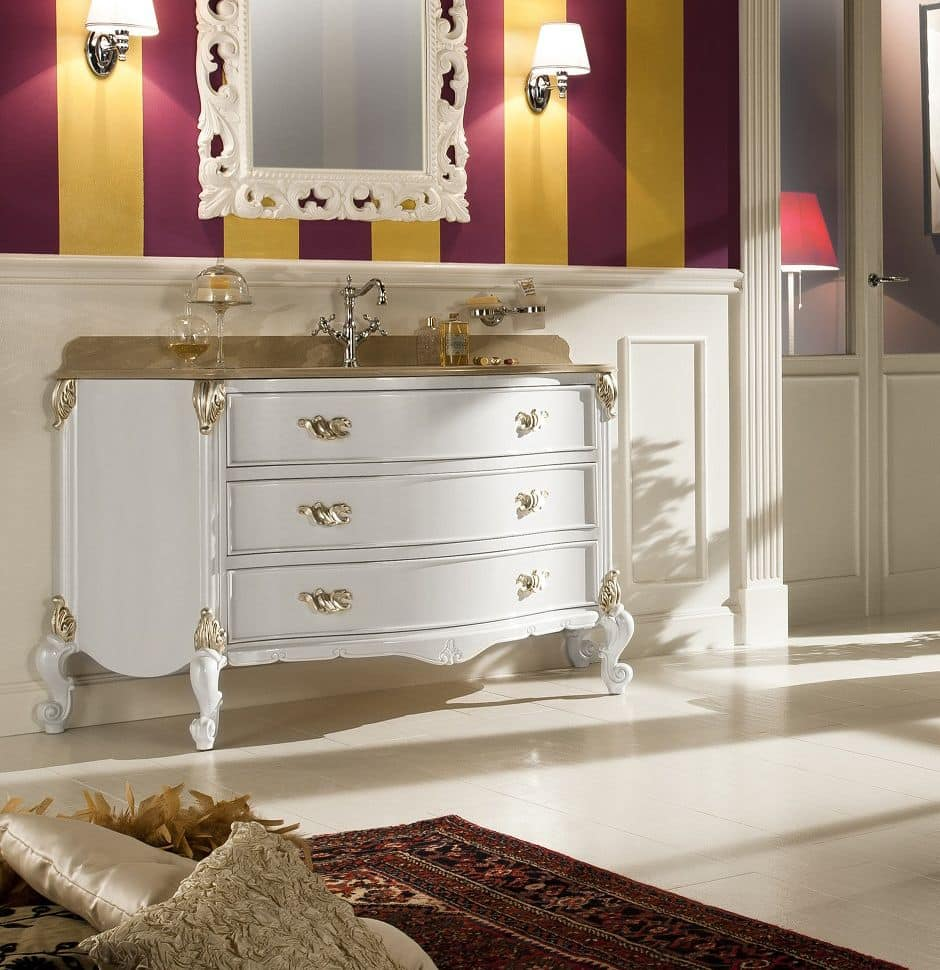 Julien arredo bagno in stile contemporaneo con base in - Bagno stile provenzale ...