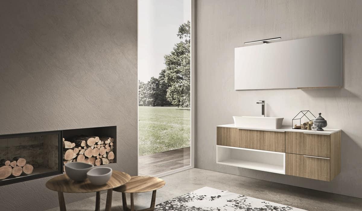 Mobili contenitori per bagno trendy stanza da bagno by - Specchi contenitori per bagno ...