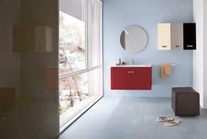 Immagine di Lumix 01, arredo bagno legno