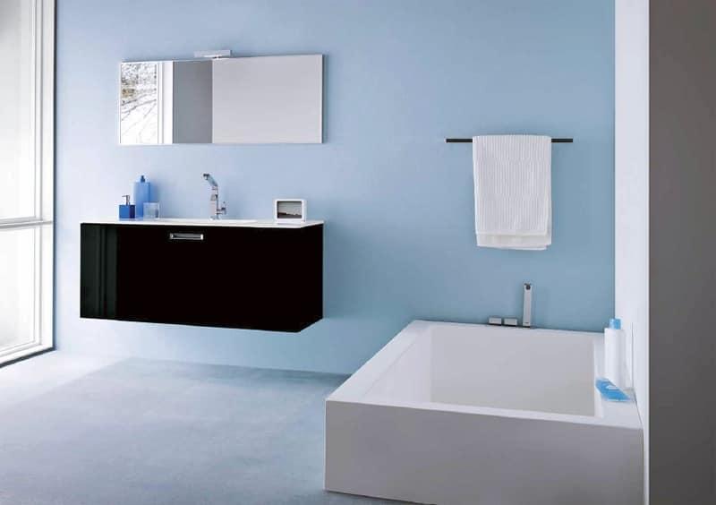 Lumix 06 mobile con lavandino casa vacanze idfdesign for Lavandino mobile bagno