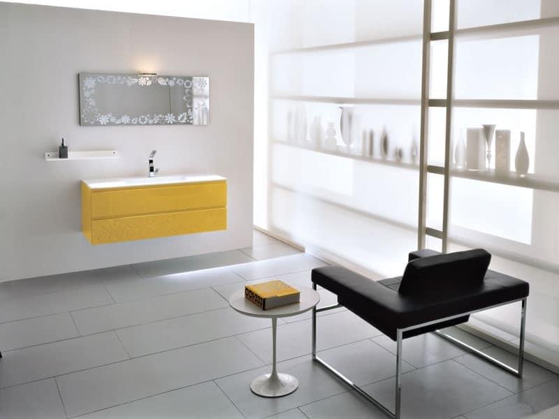 Set con lavandino casa idfdesign - Piano lavandino bagno ...