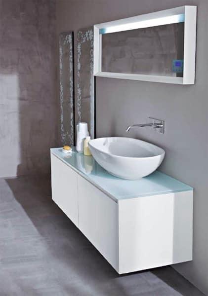 Bagno sanitari mobili bagno idf for Arredo bagno hotel