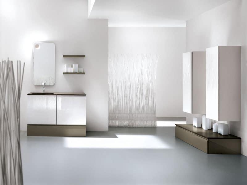 Mobili a cassetti o ad ante per bagno bagni idfdesign - Mobili per lavandino bagno ...