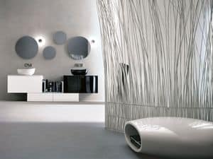 Immagine di Memento 03, mobile a cassetti o ad ante per bagno