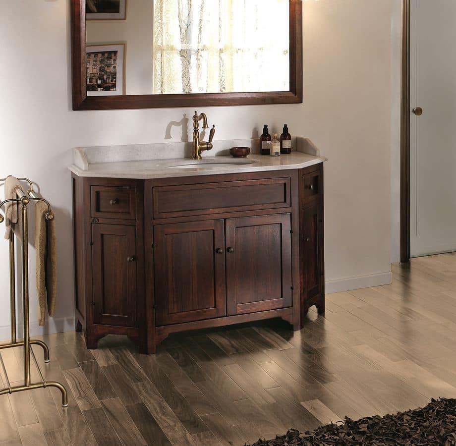 Narciso composizione arredo bagno con base per lavobo in - Gaia arredo bagno ...
