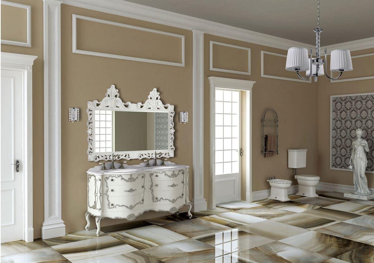 Pantheon mobile per il bagno stile classico for Lavandino mobile bagno