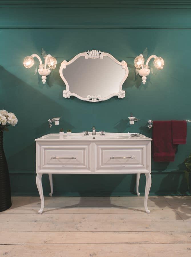 Primopiano 3 arredo bagno con base per lavabo laccata for Gaia arredo bagno