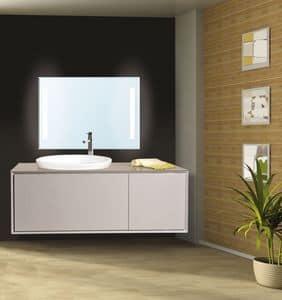 Venere arredo per bagno con pensili e mobile for Cassettone bagno