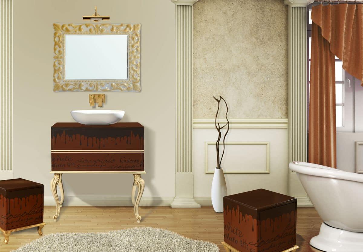 Ispirazioni legno pavimento - Arredo bagno classico elegante prezzi ...