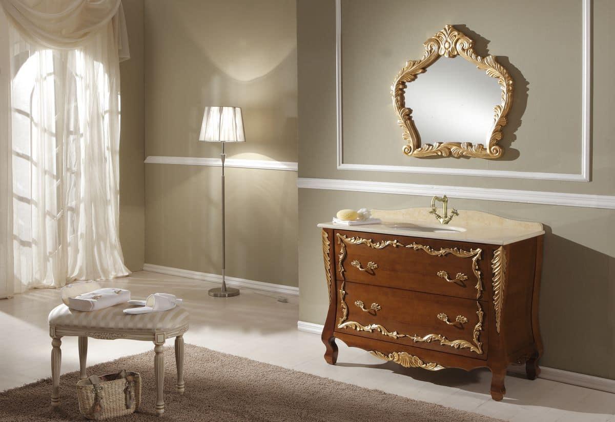 Vasca da bagno retrò: arredo bagno su misura: idee per mobili ...