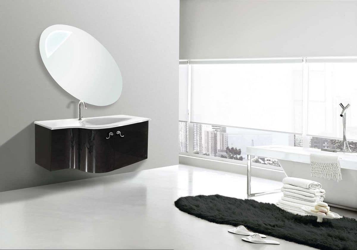 Rodi arredo per bagni moderni piano in cristallo idfdesign - Bagno la bussola ...