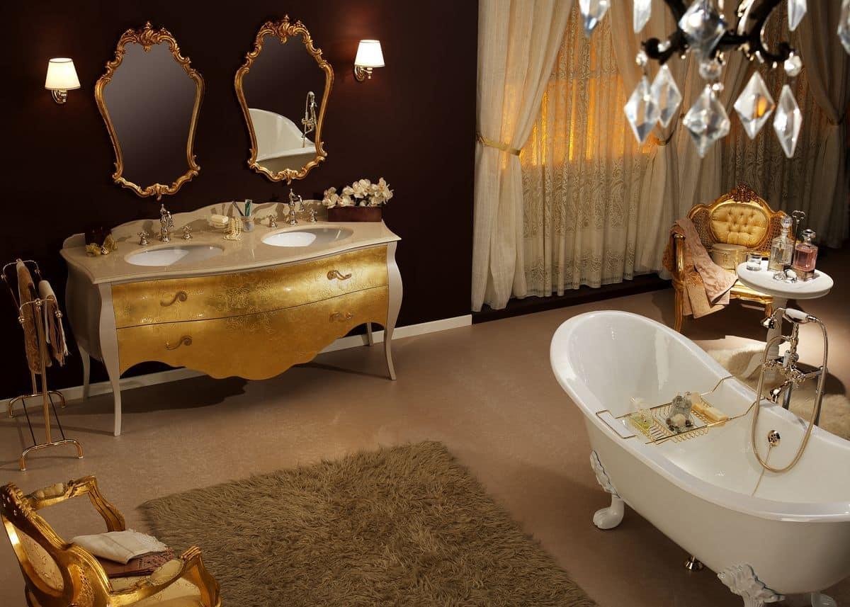 Mobile Bagno Con Piano In Legno : Mobile bagno acquisto on line ...