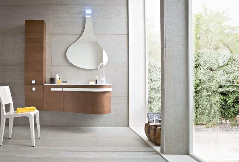 Versa 05 sistema modulare per bagno albergo idfdesign - Mobile bagno lavandino ...
